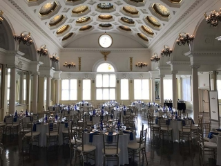 Wedding at Saratoga Casino in congress park