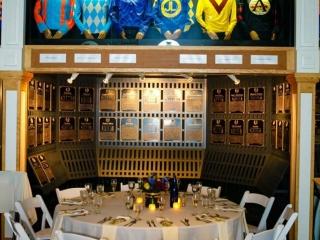 Wedding table at Saratoga Horse Racing Museum
